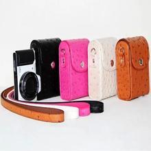 Leather Camera Case Bag for Sony Cyber-shot DSC-H55, DSC-H70