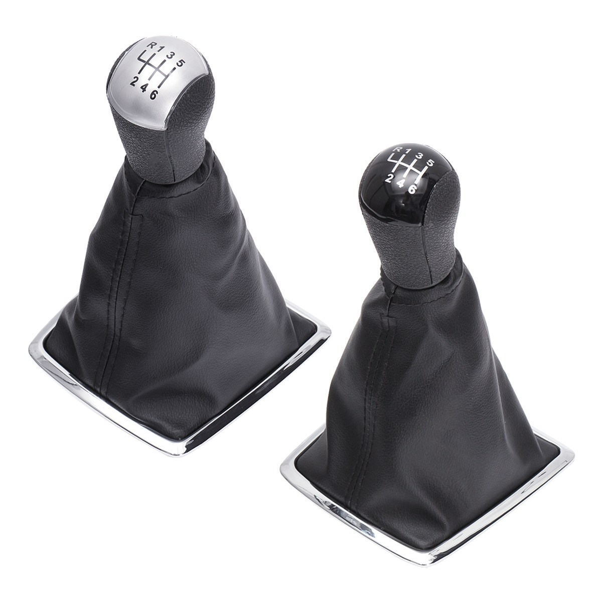 For Ford for Focus for Mondeo MK2 II 2004-2011 6 Speed PU leather Shift Knob Stick Lever Gaiter Cover