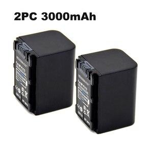 2Pack 3000mAh NP-FV70 Battery NP FV70 NPFV70 batteries For Sony NP-FV50 NP-FV60 NP-FV30 HDR-CX230 HDR-CX150E HDR-CX170 CX300 Z1