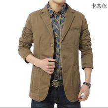 Free shipping 16 he spring and autumn period and the men's fashion leisure men's small business suit jacket coat big yards M-4XL