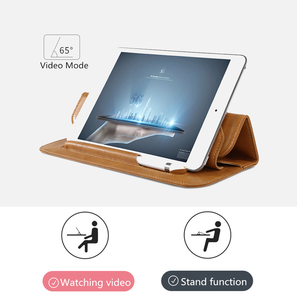 Jisoncase Shockproof Sleeve Case for iPad mini5 4 3 2 1 Microfiber Tablet For ipad 7 9 case Pencil Slot Protective for ipad mini in Tablets e Books Case from Computer Office