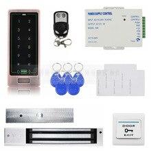DIYSECUR Painel De Toque de Controle Remoto Backlight Senha Leitor RFID Porta Teclado Sistema de Segurança Controle de Acesso Kit