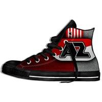 2019 Hot Fashion Printing hIgh top Sneakers AZ Alkmaar Unisex Lightweight Casual Shoes
