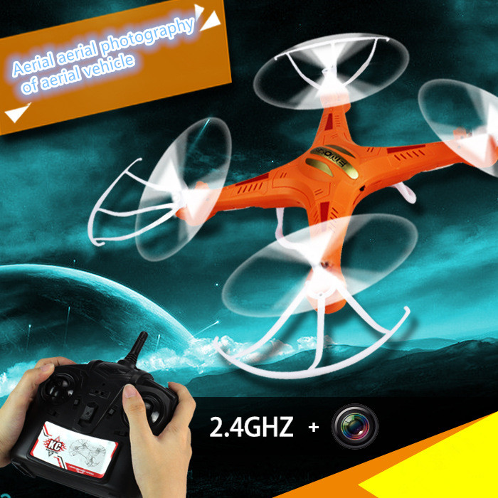 professional rc drone KC-F5 with Hd Camera 2.4G 6Axis Gyro 4Ch remote control RC Quadcopter Helicopter rc toy gift   VS F183 H9D huanqi 898c 2 4g 4ch 6 axis gyro rtf remote control quadcopter auto return drone toy
