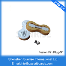 цена на Free Shipping 5 Sets of 9 Degree FCS Fusion Fin Plugs