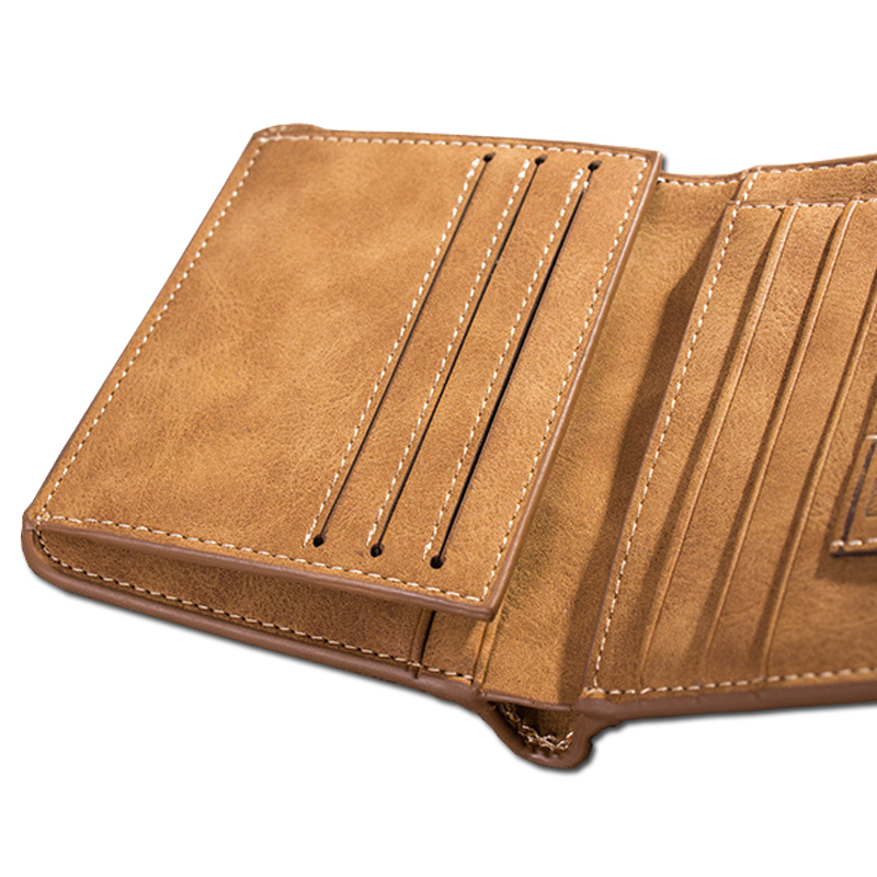 da pele curto bolsa famosa Men Wallets Tipo de Ítem : Men Wallets