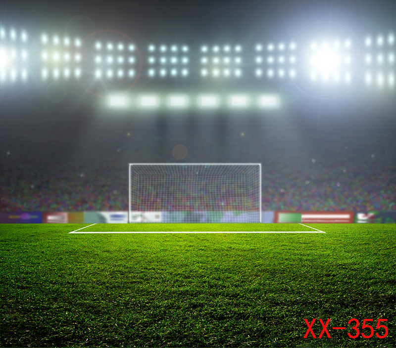 Football Field Background Photography Backdrops Photo Background