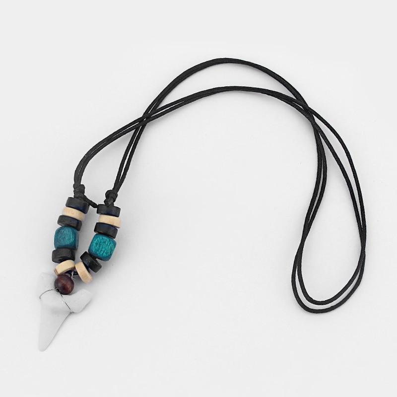 Collier pendentif surf requin dents surf requin mode choisir couleur - Bijoux fantaisie - Photo 6