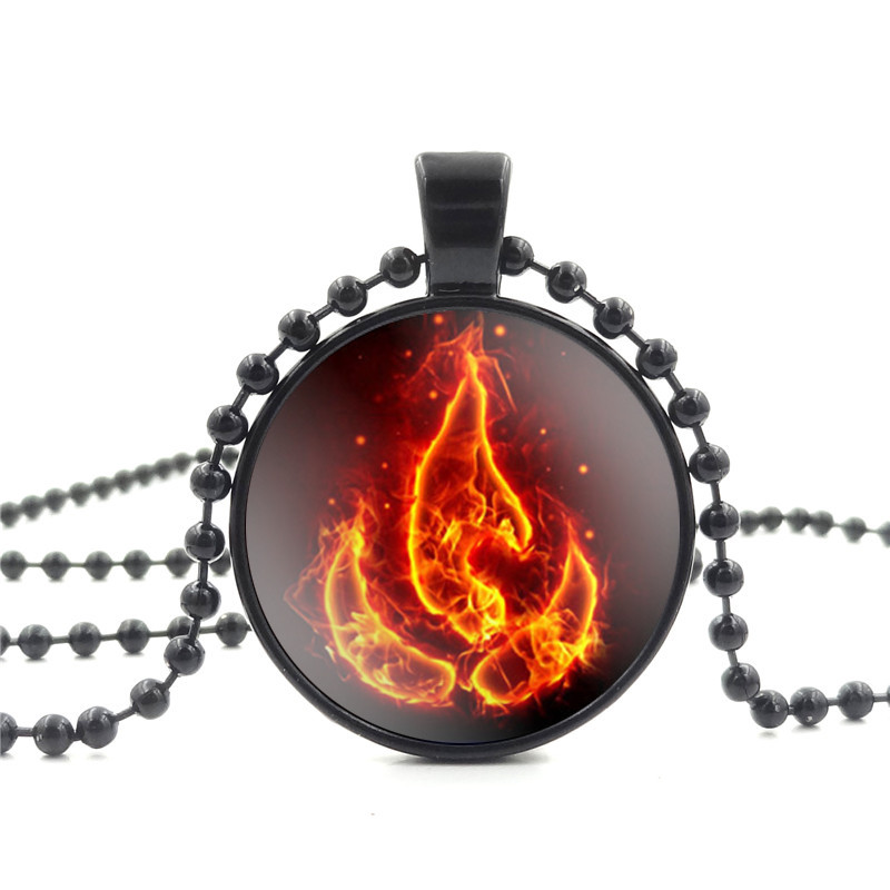 Avatar The Last Airbender Fire Nation Necklace Women Jewelry
