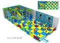 Детская игровая площадка с детской зоной  переработанный дизайн для внутренней мягкой игровой системы  нетоксичный Parque De Juegos Infantil HZ-5402b
