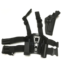 LV3 Light Bearing Holster RH With Flashlight Magazine Pouch Tactical Holster Hunting Holster For Beretta M9 92 96