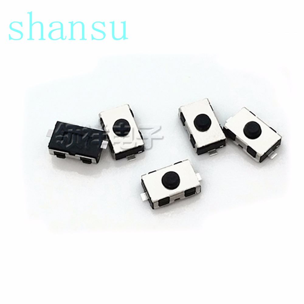 The Best 500pcs Micro Switch 3*6*2.5mm 2pin Button Switch Microswitch Vertical White No Lock Reset Switch Remote Control Switch Switches Lights & Lighting