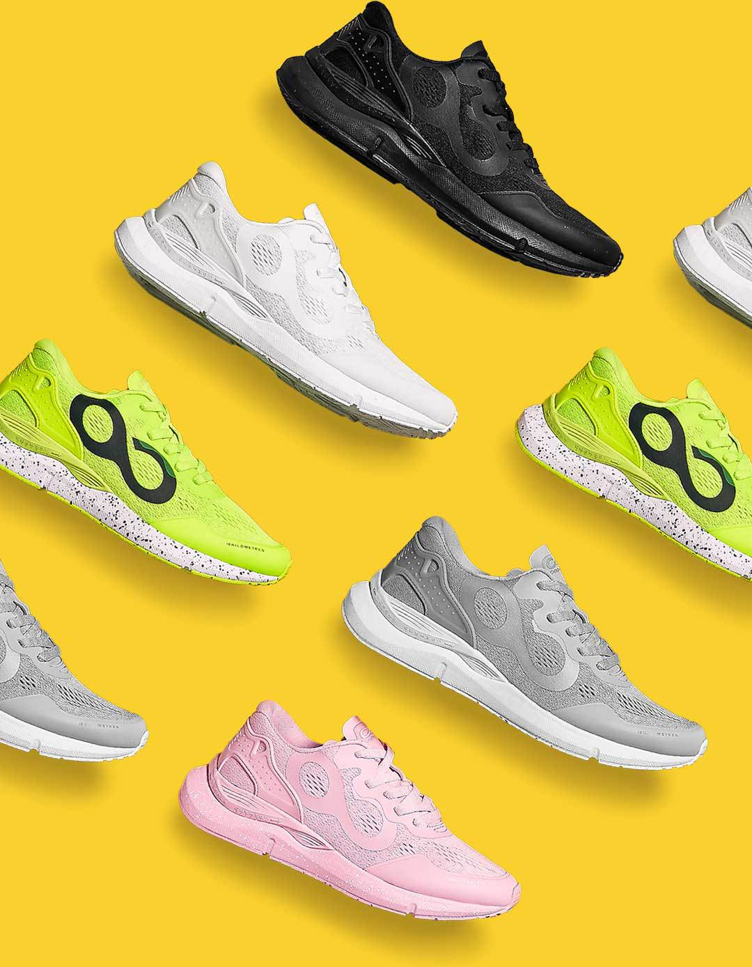 tênis de corrida par respirável esportes sapatos