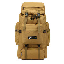 Outdoor Tactical Mountaineering Backpack Waterproof Army Shoulder Military Hunting Camping Multi-purpose Molle Travel Sport Bag цена 2017