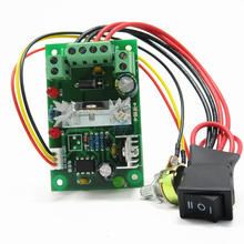 CMC6N PWM DC motor speed regulator 6V12V24V30V DC positive and negative switch dc 18v motor and switch n342741 replace for dewalt dcs355