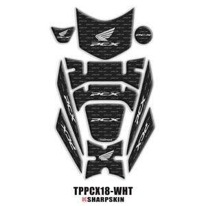 Image 2 - 3D Fairing שווי גז טנק Pad הגנת מדבקת מדבקות עבור הונדה PCX 125 150 PCX125 PCX150 2018 2019