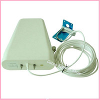 Outdoor Antenna 800 2500mhz frequency 3G GSM Outside Directional LPDA Antenna for Signal Booster Repeater with 10m Cable