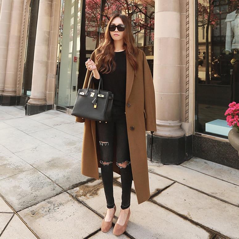 Popular Long Brown Coats-Buy Cheap Long Brown Coats lots from ...