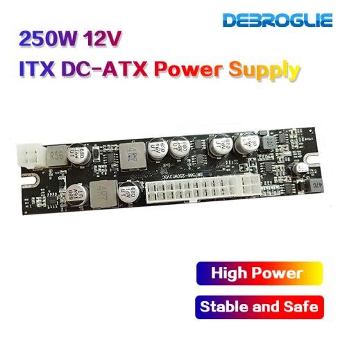 12V DC entrée 250W sortie Mini ITX Pico PSU DC ATX PC commutateur DC alimentation pour serveur d'ordinateur