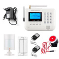 Wireless 433 MHz dual-network GSM PSTN Alarm System Home Burglar Security Alarm System Free shipping