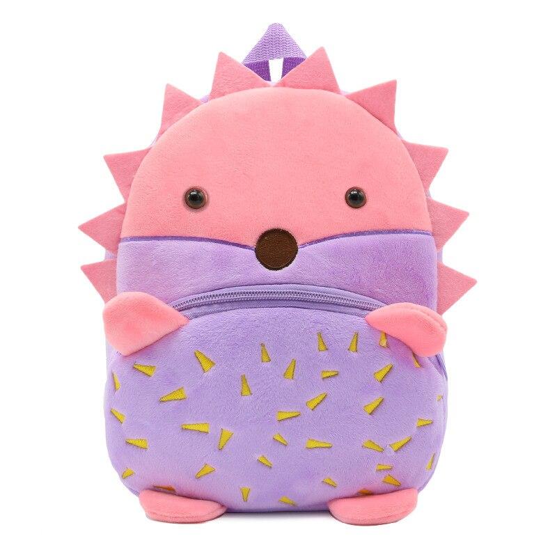 Infantil, Purple, For, Cute, Mochila, Zipper