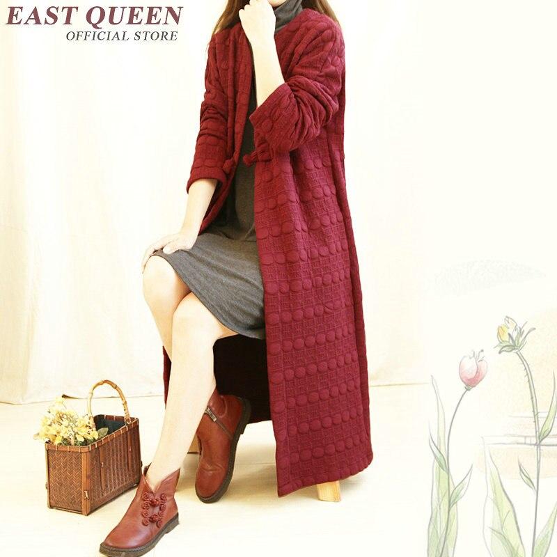 3 Femmes D'hiver 2 Haut Cheongsam Manteau Aa1067 Traditionnel Femme Vêtements Pour 1 Chinois Traditionnels 2018 Aqt6Zw