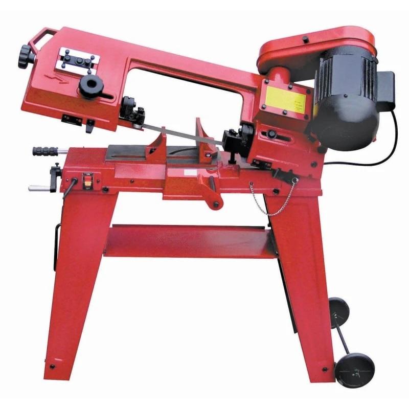 scie a ruban pour metal 750w machine a scier le metal a double usage machine horizontale verticale pour le travail du bois decoupe de tuyaux en
