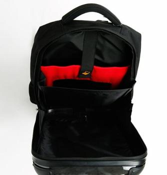 Silver Back Carry On Luggage 1