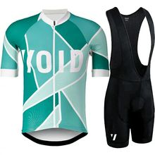 VOID 2019 Summer Quick-Dry Racing Bike Cycling Clothing Breathable Bicycle Clothes Men Cycling Jersey Bike Bib Shorts 9D pad цены онлайн