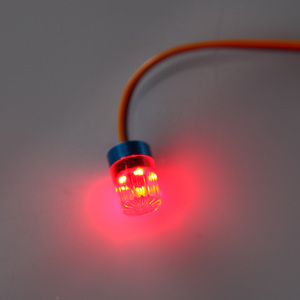 Image 3 - GoolSky AX 511 RC Đa Chức Năng Hình Tròn Siêu Sáng RC LED Xe Hơi Strobing Phun Nhấp Nháy Nhanh Chậm Chế Độ Xoay