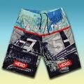 Бесплатная доставка Плюс размер шорты быстросохнущая дышащая двойной слой сетки случайные Большой пляж короткие брюки 7xl 6xl 5xl 4xl 3xl