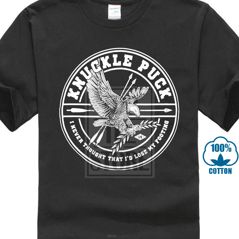 Knuckle Puck Men'S Eagle Arrows T Shirt X Large Black
