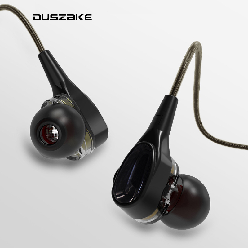DUSZAKE S6 In Ear Phone Earphones Headphones For Cellphone In Ear Phone Earphones Headphones For Xiaomi Wired Earphone for Phone