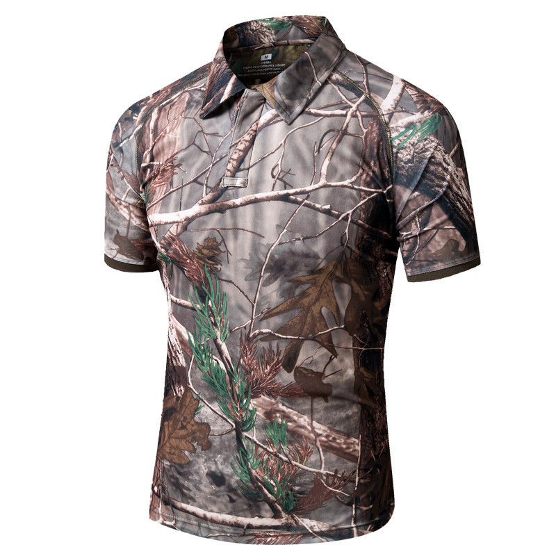 Men Outdoor Short Sleeve Breathable Hiking T-shirt Mens Summer Polo Shirt Outdoor Sports Training Shirt Men Tops Large Size 5XL