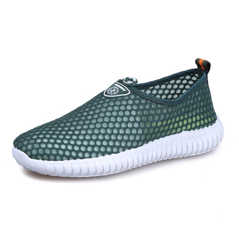 Homens Moda Malha Sola De Casuais Homem Azul Masculino Grossa Net cinza Para Sapatos Dos Primavera Nova Único Tênis Marca Calçados Respirável verde 2018 Outono 4xt0SAwf