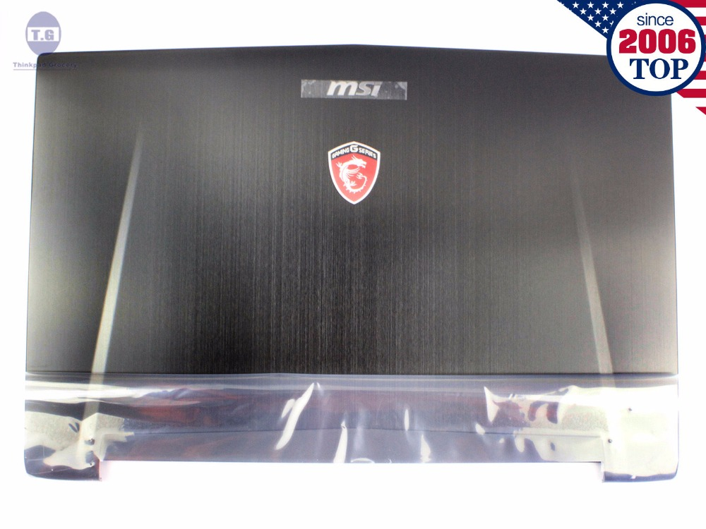 NEW For MSI GT72 1781 1782 LCD Back Cover 307-781A415-Y311 307-781A417-Y311 Black Free Shipping