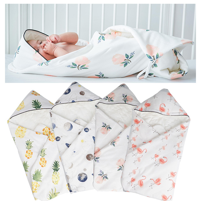 Muslinlife 87 85cm Newborn Baby Swaddle Wrap Soft Infant Newborn