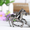 Lovely New Cute Horse Run Gallop Crystal Charm Purse Handbag Car Key Keyring Keychain Party Wedding Birthday Gift