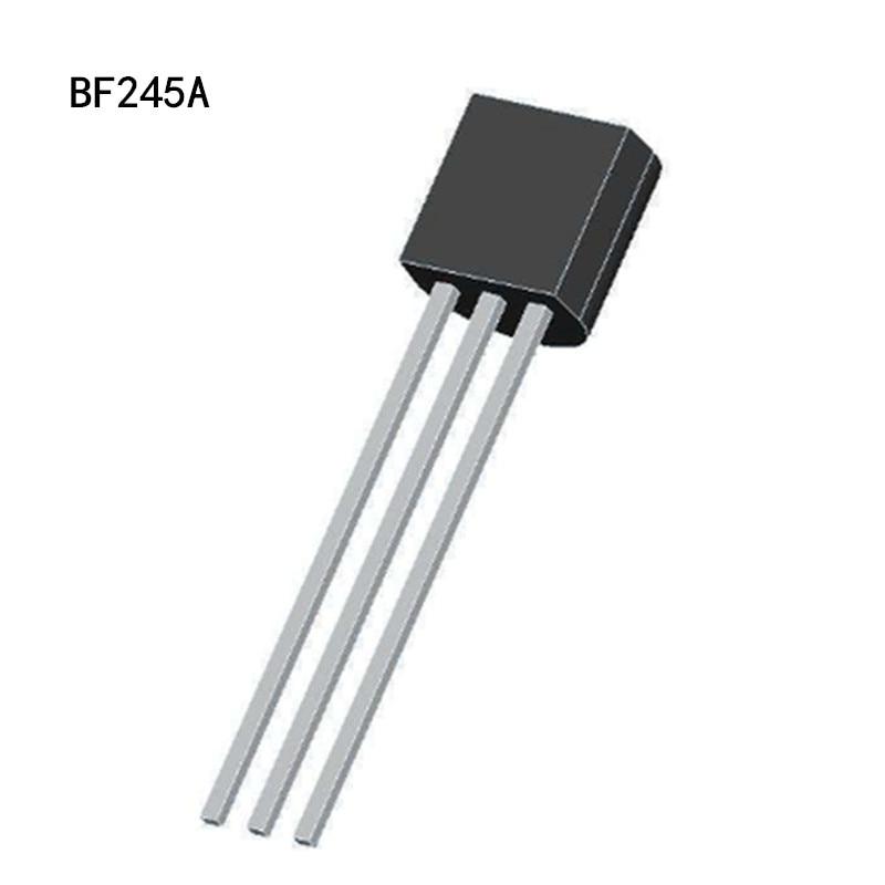 10pcs BF245A BF245 TO-92 Triode Transistor