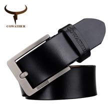 flashion genuine buckle black
