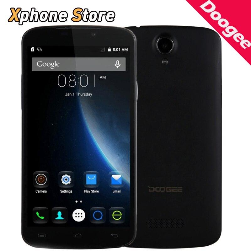 Original Doogee X6 Pro 4G 5.5 inch Android 5.1 RAM 2GB ROM 16GB Mobile Phone Quad Core MTK6735 Dual SIM 720P Cell Phones