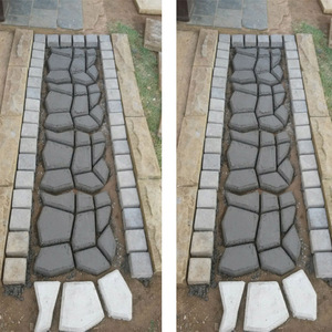 Image 5 - 2020 new Path Maker Concrete Mold Reusable Paving Durable for Garden Lawn YU Home