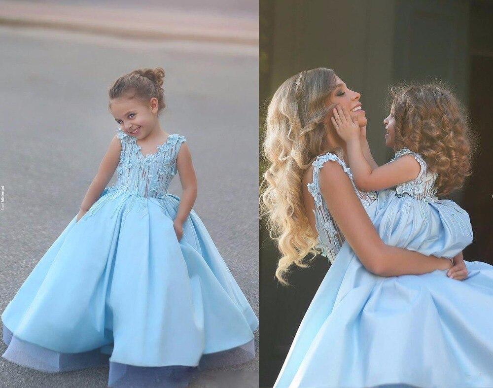 Popular baby blue wedding dress buy cheap baby blue for Baby blue wedding dress