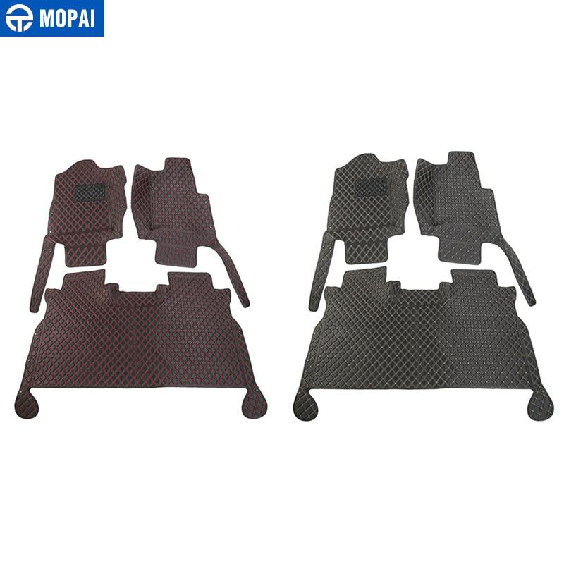 Image 5 - MOPAI аксессуары для салона автомобиля кожаные коврики для ног комплект украшения крышки для Ford F150 2015 Up Автомобильный Стайлинг-in Лепнина для интерьера from Автомобили и мотоциклы