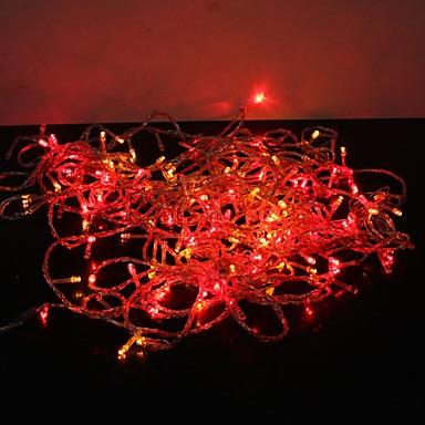 New Year LED Christmas Lights Outdoor  AC220V 50M EU Plug Christams Garlands Cristmas Lights LED Guirlande Lumineuse Navidad