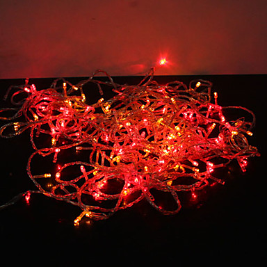 7.5m 50 Indoor Lotus Led Garland String Light Bedside Lamp For Christmas Festival Wedding Party Birthday Garden Rail Fence Decor Sales Of Quality Assurance Lighting Strings