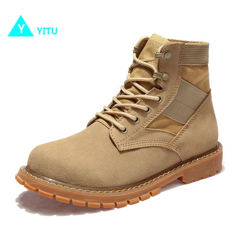YITU Women's Hiking Shoes Outdoor Tactical Trekking Shoes Female Sneakers Sports Women Shoes Mountain Climbing Camping Sneakers