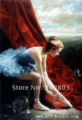 world-wide oil paintings reproduction  made in China,Figure painting , Ballet