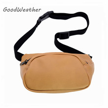 Designer belt bag leather casual vintage brown waist bag female sac ceinture women high quality PU waist belt bags