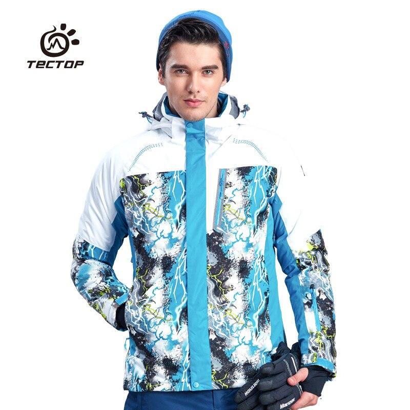 Prix pour 2016 Marque D'hiver En Plein Air Sport Hommes Ski Manteaux Imperméable Respirant Épaissir Chaud Ski Coton rembourré Vestes Homme de Neige Manteaux